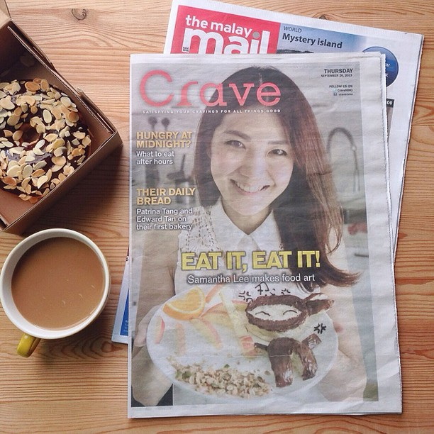 Malaymail- samantha lee food artist